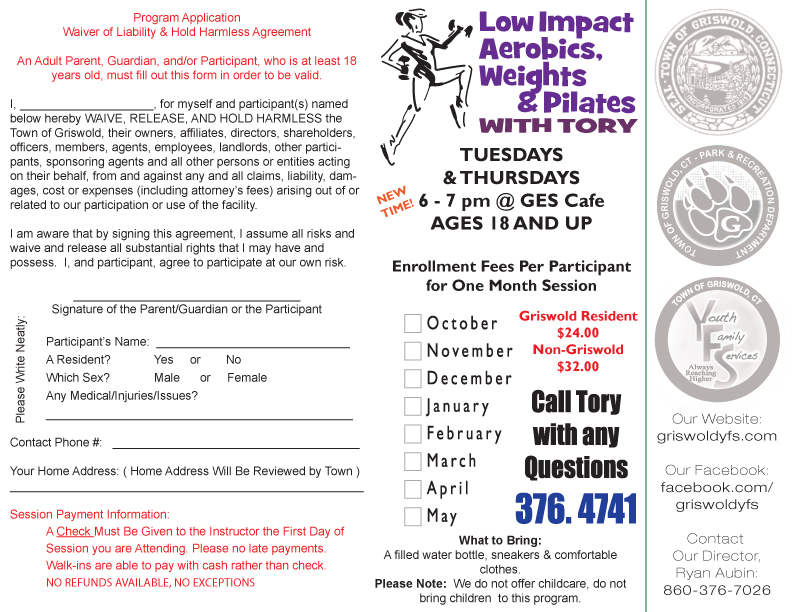 Griswold Aerobics & Pilates